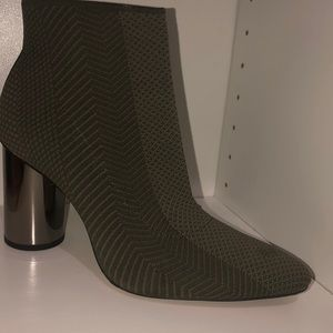 Zara green autumn boots fall